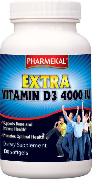 Extra Vitamin D3 4000 IU