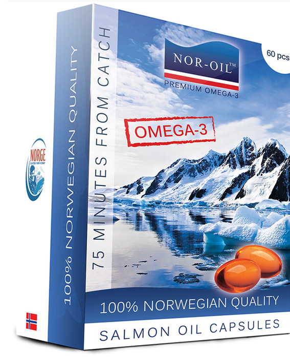 NOR-OIL Ulei de somon capsule