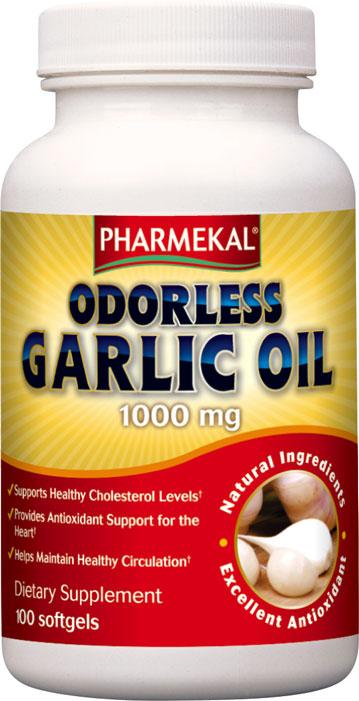 Odorless Garlic Oil 1000 mg