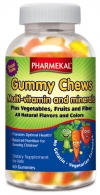 Gummy Chews Multi-vitamin and minerals
